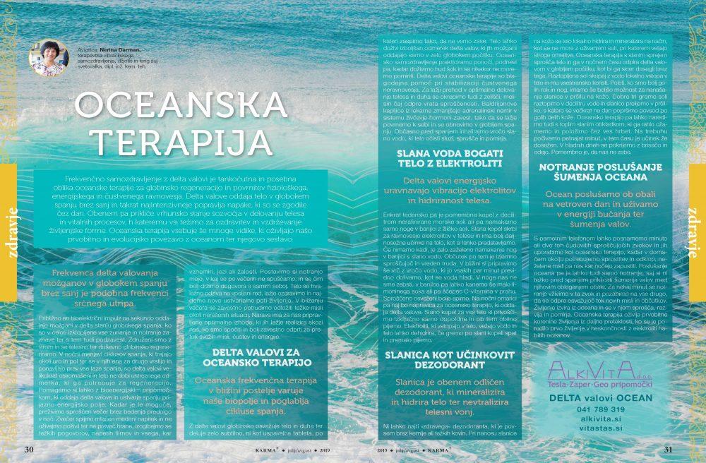 DELTA VALOVI OCEAN - Ocenska terapija