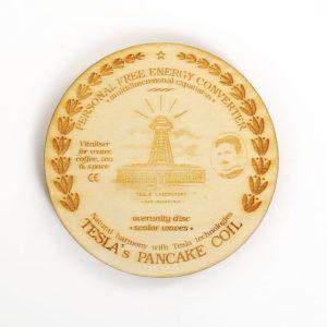 Teslov generator Teslov medaljon pddaja Teslove skalarne valove