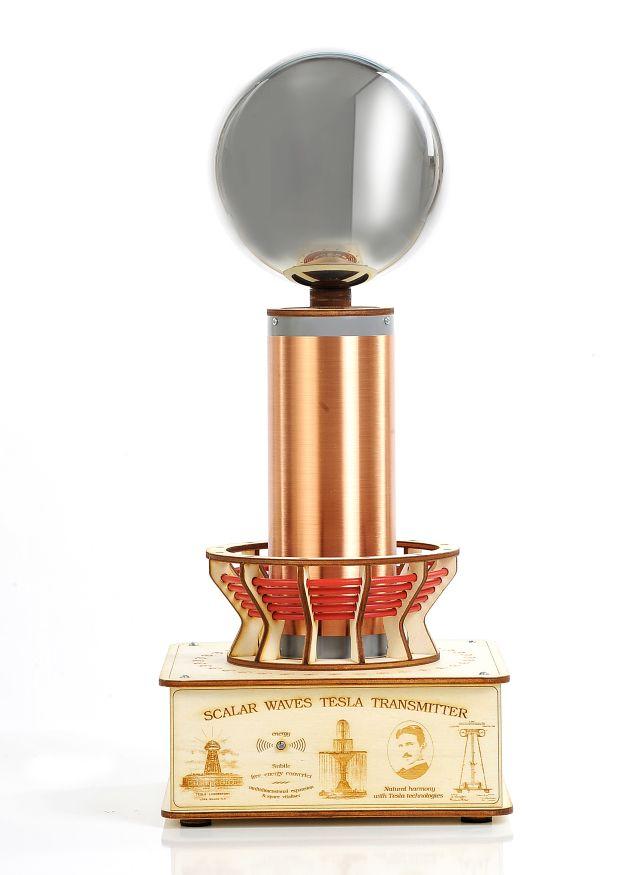 Baterijska Teslova fontana je Teslov generator, ki oddaja Teslove skalarne valove