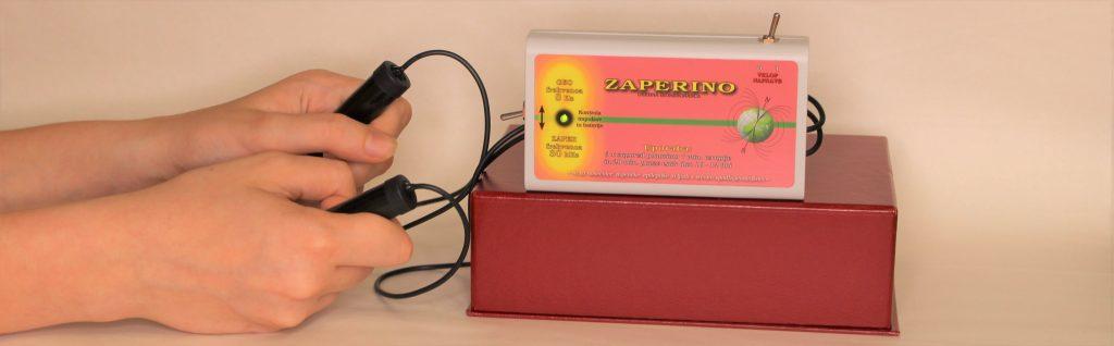 Zaper Zaperino z zaper vibracijo uniči parazite, pomaga pri virozah, gripi...