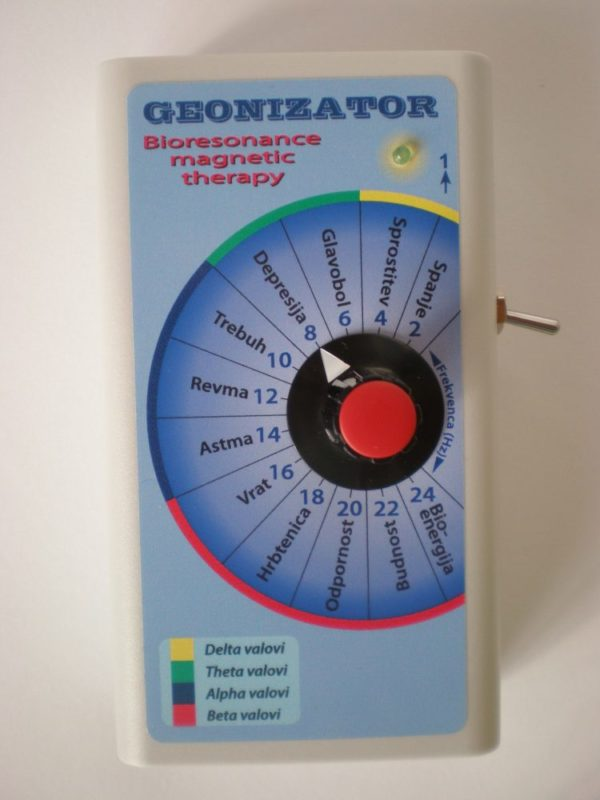Geonizator za theta samozdravljenje