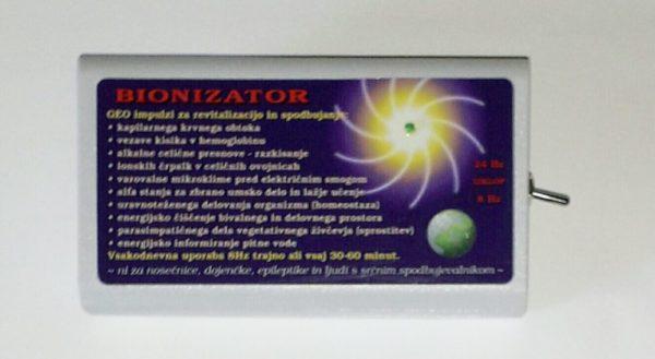 Bionizator oddaja geo impulze