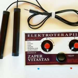 Elektroterapija Zaper Vitastas z regulatorjem jakosti in moči